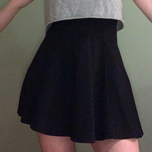 H&M Flare Navy Skirt